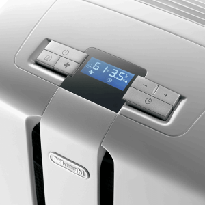 Sleek controls at Delonghi