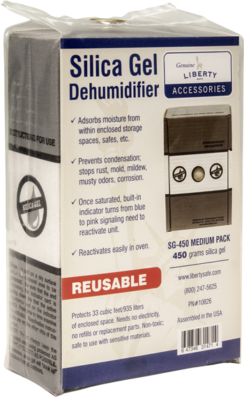 Most desiccant dehumidifiers are reusable. Follow instructions from the manufacturer!