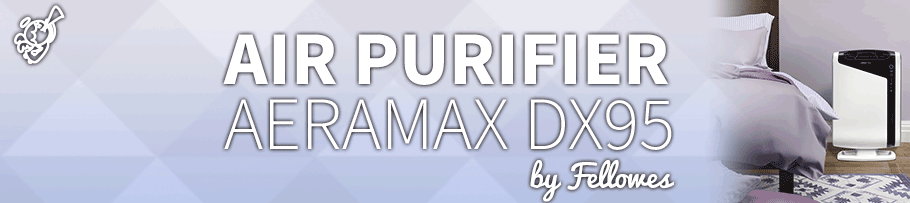Fellowes – Aeramax DX95 : Air Purifier Review post image