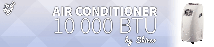 Shinco – 10K BTU : Portable Air Conditioner Review post image