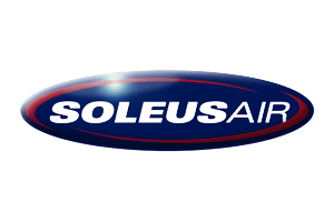 The logo of Soleus