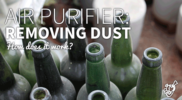 How does an air purifier remove dust from air? post image
