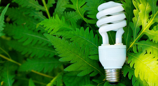 An energy-efficient lightbulb
