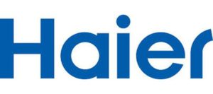 The logo of Haier