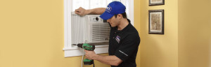 Most non-free standing ac unit require a professional to install, which has to be factored in the price!