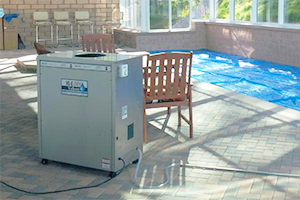 The indoor pool dehumidifier