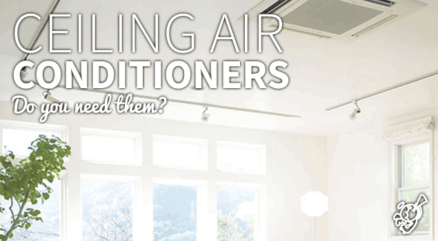Ceiling air conditioner vs. Portable air conditioner: the match post image