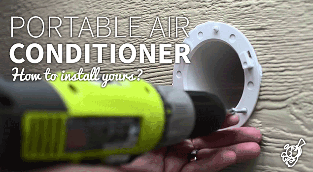 How to install a portable air conditioner post image