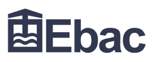 The logo of Ebac