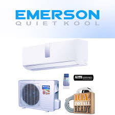 The logo of Emerson Quiet Kool