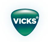 The logo of Vicks
